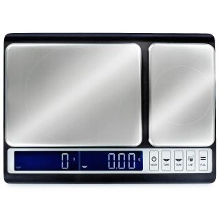Smart Weigh Culinary Digital Kitchen Scale with Dual Weight Platforms