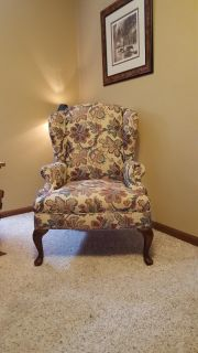 Wingback chair, excellent condition, smoke free pet free home