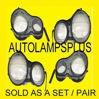 Buy Mercedes W210 Head Light Lens PAIR E300D E320 E420 E430 E55 NEW motorcycle in Fort Lauderdale, Florida, US, for US $145.00