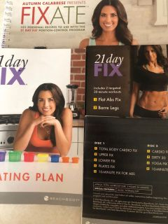 21 day fix with Extras by beach Body