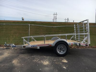"2019 Eagle Trailers 60x96"" w/Swivel front jack Trailer North Mankato, MN"