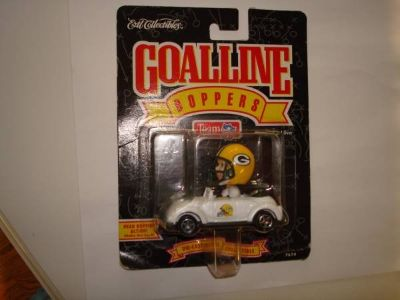 Green Bay Packers Ertl Collectibles Bobblehead Car 1996 Goalline Boppe
