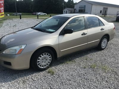 2007 Honda Accord Value Package (Gold)