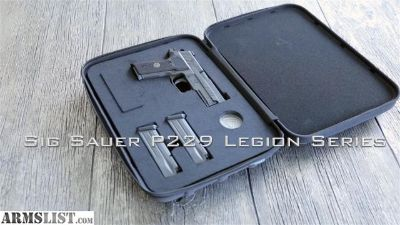 For Sale: Sig p229 legion 9mm + extras
