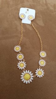 Charming Charlie's necklace and earring set