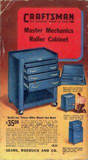 WTB: early '40's Craftsman box, long c tools