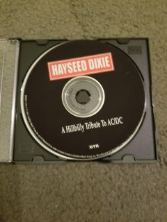 Hayseed Dixie (A Hillbilly Tribute to AC/DC) CD