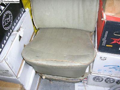 Used Pair Of Old Original Beetle Lowback Seats