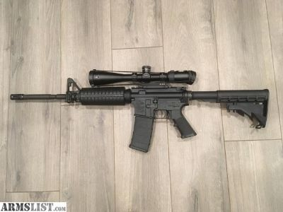 For Sale/Trade: Colt 6920 LE RESTRICTED AR15