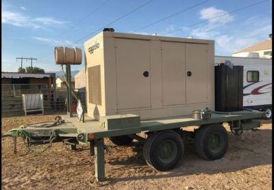 1991 Utility Tool-Body-Co- Inc-5-Ton-Gene ral- Purpose-Military-Trailer