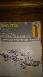 Buy Haynes Repair Manual for 1979-1982 Mazda 626 (648) motorcycle in Golden Valley, Arizona, United States, for US $8.37