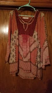 Maurices top with lace