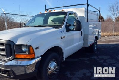 2000 Ford F-350 S/A Service Truck