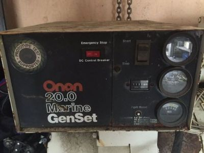 Buy ONAN 20KW DIESEL GENERATOR RUNNING TAKE OUT LOW HOURS motorcycle in Edgewater, Maryland, United States, for US $2,250.00