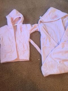 Macy s first impression infant terry cloth robe and towel set