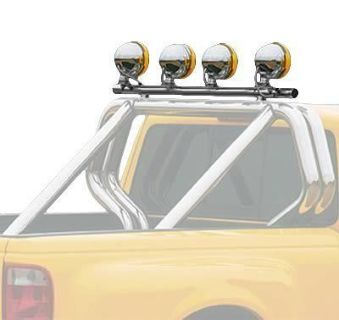 Buy Go Rhino Truck Bed Light Bar Xtreme Rack Sport Bar Lightning Series Black motorcycle in Tallmadge, Ohio, US, for US $265.93