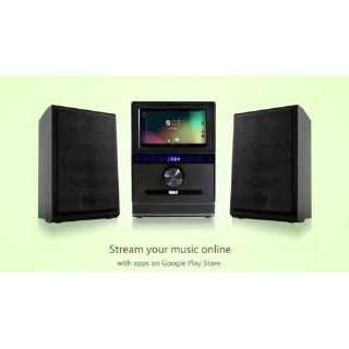 RCA RCS13101E Google Powered Internet Music System With 7-inch Multi-Touch LCD