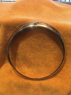German 64-74 ghia headlight ring