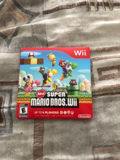 New Super Mario Bros.Wii for Wii for sale