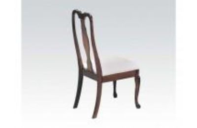 ACME 02244 Set of 2 Queen Ann Side Chair, Cherry Finish