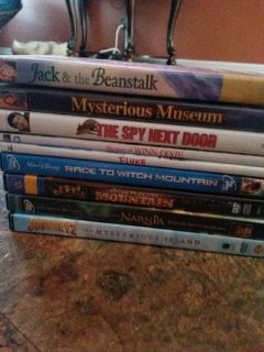 CHILDREN MOVIE LOT OF 9 DVDS