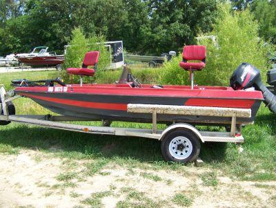 1986 Astro Astro W/ 03 Mercury 40 & Trailer Bass Boats West Plains, MO