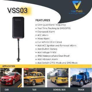IP66 waterproof mini GPS tracking device - VSS03
