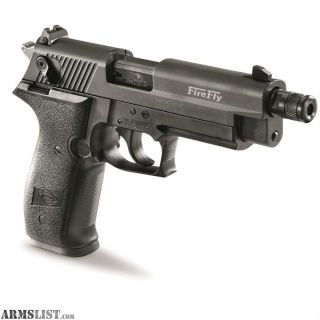 "For Sale: ATI/GSG Firefly HGA 22 LR Semi Auto Pistol 10 Rounds 4"" Threaded Barrel Alloy Frame"