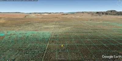 5 Off Grid Acres in El Paso County Texas with Mountain Views