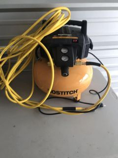 Bostitch 150psi air compressor used once paid $100