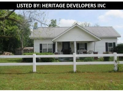 3 Bed 1 Bath Foreclosure Property in Screven, GA 31560 - Harvey St