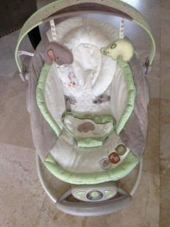 InGenuity Automatic Bouncer in Light Green-