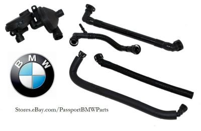 Sell BMW OEM Crankcase Ventilation Oil Seperator & Hoses E46 E60 E83 E53 11617501566 motorcycle in Suitland, Maryland, US, for US $139.65