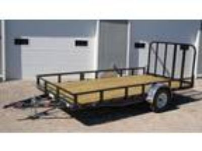 "2019 PJ Trailers 83"" Channel Utility (U8) 14'1"
