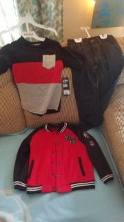 Boys shirt , jeans and jacket new with tag