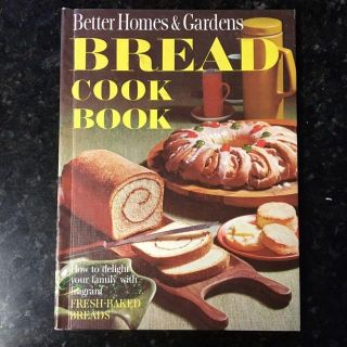 Bread Cookbook, Better Homes and Gardens, Excellent condition