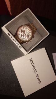 Lexington Pav Rose Gold Michael Kors