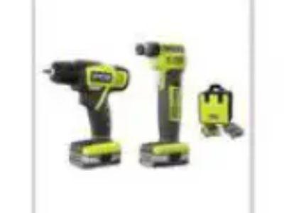 Ryobi Auto Hammer DrillDriver Kit