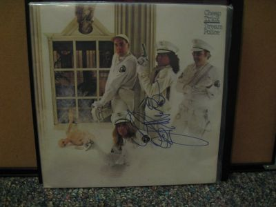 Cheap Trick DREAM POLICE signed by Rick Nielsen