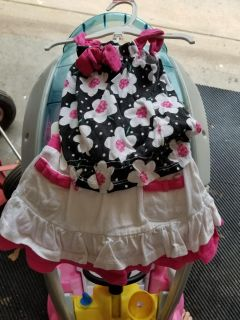 Infant girls outfit size 12 months