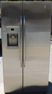 25 CU. FT. GE PROFILE SIDE-BY-SIDE REFRIGERATOR