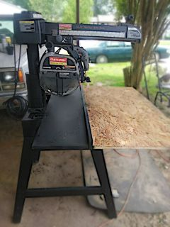 "Craftsman 10""Radial arm saw"