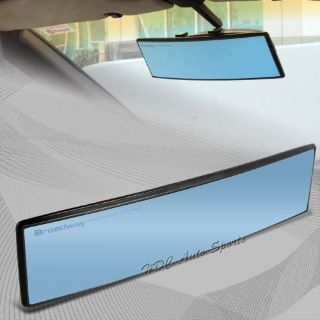 Purchase Broadway 300MM Convex Interior Clip On Rear View Blue Tint Mirror Universal 5 motorcycle in Walnut, California, United States