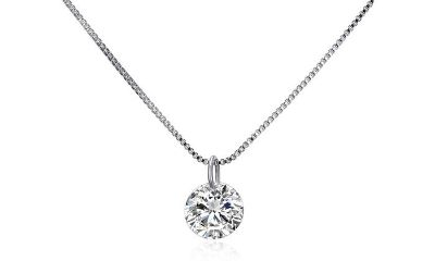 **BRAND NEW***2.00 CTTW CZ Solitaire Necklace***