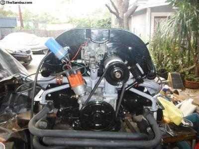 FI block 1600cc dual prot motor complete turn key