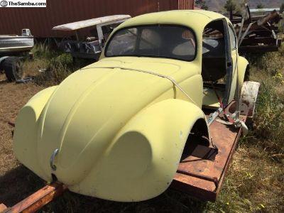 Oval Bug Fiberglass Dragster Body