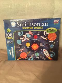 Smithsonian discovery puzzle. NEW