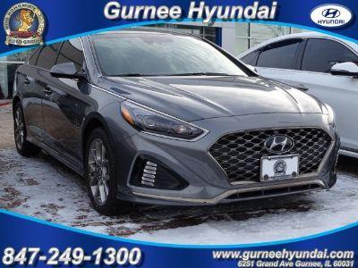 2018 Hyundai Sonata Limited+ (Machine Gray)
