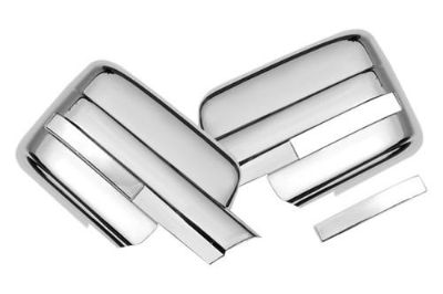 Find SES Trims TI-MC-147T Ford F-150 Mirror Covers Truck Chrome Trim 3M Brand New motorcycle in Bowie, Maryland, US, for US $66.00