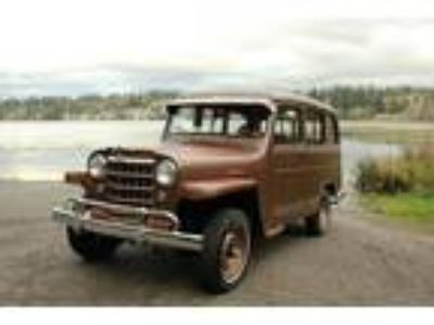 1951 Willys Overland Station Wagon